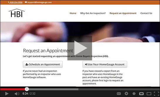 Appointment Request Video Demo